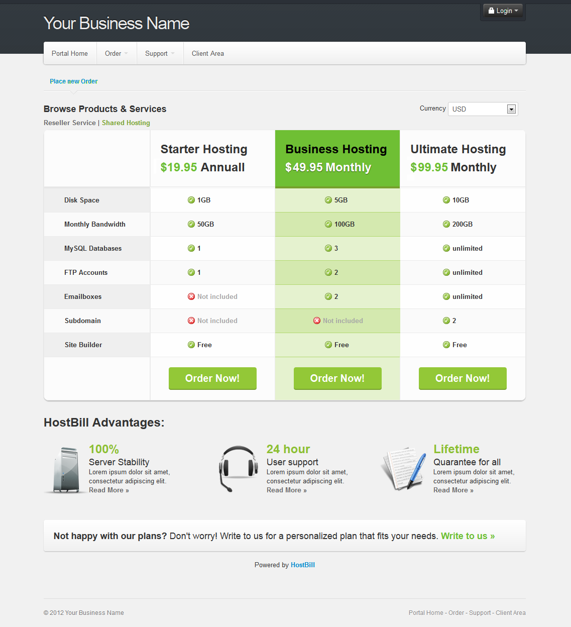 Release Notes: 2012   HostBill   Billing & Automation Software for